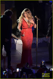 Rockefeller Center Christmas Tree Lighting 2014 Live by Mariah Carey Sings U0027all I Want For Christmas Is You U0027 Live At