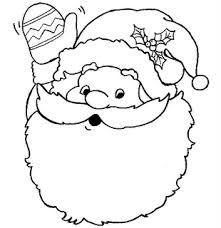 Christmas Coloring Pages For Toddlers