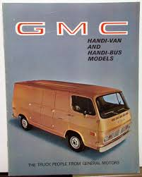 100 1969 Gmc Truck For Sale GMC S HandiVan And HandiBus Models S Brochure