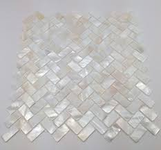white hexagon pearl shell tile tile ideas bathroom tiling and