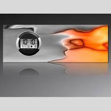 dixtime designer wanduhr 123kunst de
