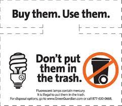 do not throw your cfl bulbs in the trash random