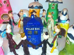 Whoville Christmas Tree Edmonton by The Infinite Yums Doctor Who Ville