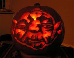 Yoda Pumpkin Stencil by 20 Halloween Pumpkin Fails