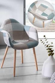 armlehnstuhl in bunt gemustert stoff armlehnstuhl