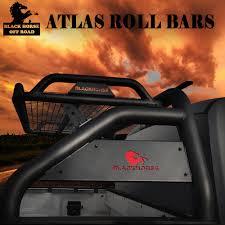 RB-BA1B ATLAS Roll Bar By Black Horse Off Road For 2009-2019 Dodge ...