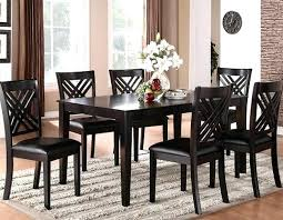 Espresso Dining Table Set Fabulous Finish Modern Counter Tables Best Height In For