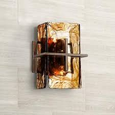 rustic sconces wall light fixtures ls plus