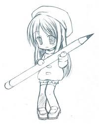 A Little Clean Sketch From Chibi Pencil Thanks Lot For All The Favorites Cleared