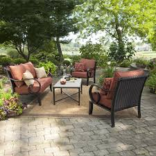 Mainstays Patio Furniture Manufacturer by Patio Cozy Outdoor Furniture Design With Allen U0026 Roth Patio