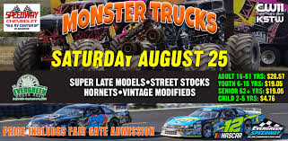 Saturday August 25, 2018 Speedway Chevrolet Super Lates & Monster ... Monster Truck Show Showtime Monster Truck Michigan Man Creates One Of The Coolest Jam Photos Detroit Fs1 Championship Series 2016 Amazoncom 2013 Hot Wheels 164 Scale Razin Kane 1st Editions Thrdown Sports League Facebook 2313 Allnew Earth Authority Police Nea Oc Mom Blog Triple Threat Fiserv Forum Milwaukee 19 January Trucks Freestyle Stock In Ford Field Mi 2014 Full Episode