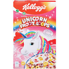 Kelloggs Unicorn Froot Loops Cereal