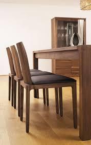 ausgefallene stühle leder holz voglauer möbel