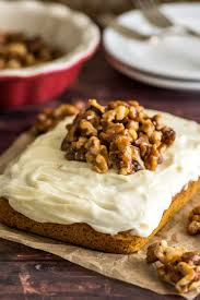 Best Pumpkin Desserts 2017 by Mini Pumpkin Cake With Cream Cheese Frosting Baking Mischief