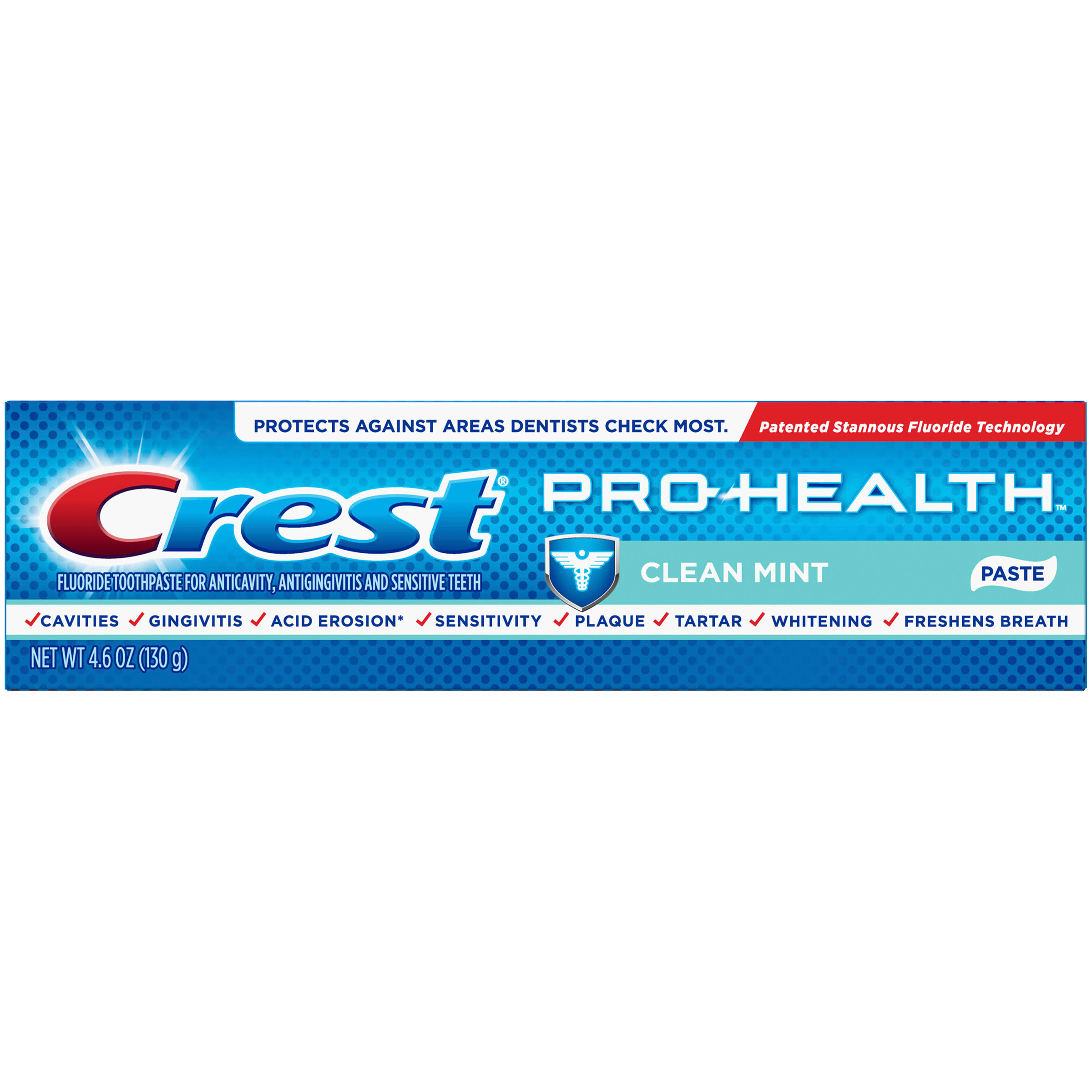 Crest Pro Health Fluoride Toothpaste - Clean Mint, 4.6oz