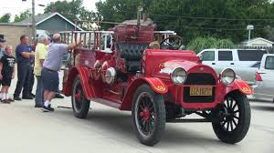 100 First Fire Truck Hays Motorized Engine The 1921 REO Speedwagon YouTube