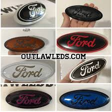 92-97 OBS Ford Grille Badge - OutlawLEDs How To Remove Factory Badges And Decals In Ten Easy Steps Fender Outlawleds Another Set Of 9 Custom Painted Ford Oval Blems For Jason Chrome Emblems Emblemart Custom Car Truck Hotrod Status Grill Dodge Accsories 9297 Obs Ford Grille Badge 52018 F150 Oval Blackout Grey Lettering Overlay Set S3m Automotive Nameplates Badging Auto Finished My Forum Community A 643hp 2006 F250 Built For The Loving Lolly Photo Image Gallery Ford Brushed Carbon Black Charcoal Gray Billet Inc 062011 Ranger Tailgate Or Grill Blem Matte Black