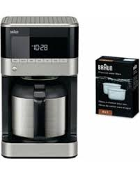 Braun BrewSense KF7155BK Thermal Drip Coffee Maker With Filter 6 Pack