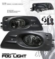 honda accord sedan 2006 2007 smoked fog lights kit a101s1ig103