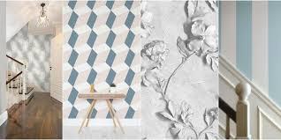 16 Hallway Decoration Ideas Using Wallpaper