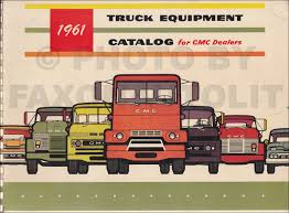 100 Dealers Truck Equipment 1961 GMC Catalog Dealer Album Original GMC Amazoncom Books