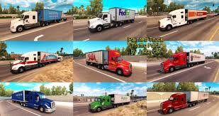 Painted Truck And Trailers Traffic Mod Pack By Jazzycat V 1.1 For ... Sioux City Truck Trailer North American And Trailer Stock Image Image Of American Camping 3707471 Simulator Peterbilt 567 Rental Freightliner Doepker Dealer Saskatoon Frontline Painted Trailers Traffic Pack V14 By Jazzycat Ats Mods Michelin Tires For Trucks In Big Rig Truck Drive West Into The Sunset On 1934 Studebaker Semi Vintage Pinterest Without A Vector Images Of Any Size In V11 Eagles Modding Forums New