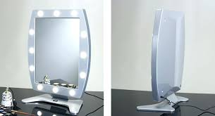 Lighted Makeup Mirror Walmart Vanity Lights Best Make Up