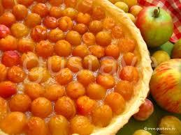 tarte aux mirabelles et aux pommes la recette gustave