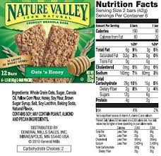 QUAKER CHEWY 90 CALORIE GRANOLA BAR CHOCOLATE CHUNK84 OZ 24g Nutrition Facts Serving Size 1 Bar 24 G Servings Per Container See Table