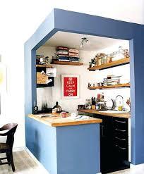 cuisine ouverte surface amenagement cuisine surface jouer sur les couleurs