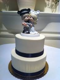Precious Moments A Little Something Bakery FigurinesBlue CakesWedding Cake ToppersWedding