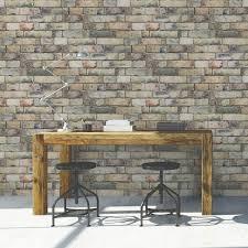 papier peint intisse chambre papier peint intissé brique anglaise jaune leroy merlin