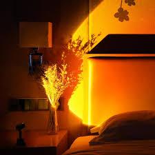 mini tragbare sonnenuntergang le licht regenbogen projektion warme led nachtlicht sonnenuntergang led licht kette tischle dekoration led