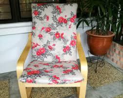 Poang Chair Cushion Uk by Ikea Poang Chair Cushion Cover Dark Floral