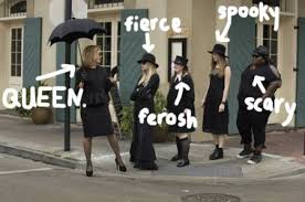 American Horror Story Witches Reveal Season 3 Coven Secrets On Set