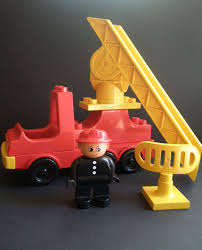 Vintage Lego Duplo Fire Truck Set With Driver, Fireman, 6 Pieces ... Lego Duplo 300 Pieces Lot Building Bricks Figures Fire Truck Bus Lego Duplo 10592 End 152017 515 Pm 6168 Station From Conradcom Shop For City 60110 Rolietas Town Buildable Toy 3yearolds Ebay Walmartcom Brickipedia Fandom Powered By Wikia My First Itructions 6138 Complete No Box Toys Review Video