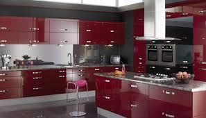 Excellent Red And Black Kitchens Zitzatcom With 13