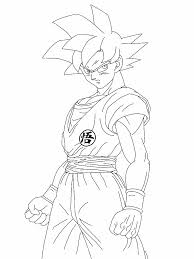 Dragon Ball Z Coloring Pages Goku Super Saiyan God
