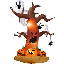 amazon com halloween inflatables 8 tall inflatable dead tree w