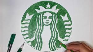Diy Starbucks Logo How To Draw The Starbu