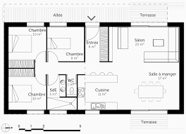 plan maison 4 chambres etage plan de maison a etage 4 chambres beau plan maison 3 chambre etage