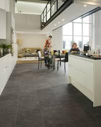 kitchen flooring waterproof vinyl plank laminate tile metal look