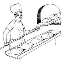 Bake bread clipart