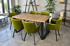 moderne tisch stuhl sets fürs esszimmer 7 teile günstig