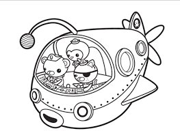 Octonauts Coloring Pages Printable