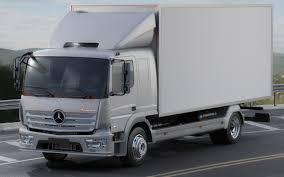100 Mercedes Box Truck 3D Model Atego 2014 Long CGTrader
