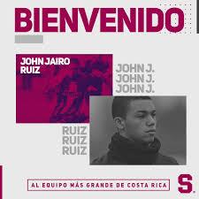 El Deportivo Saprissa Anunció La Contratación De John Jairo Ruiz