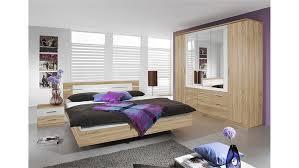 schlafzimmer set burano in sonoma eiche und weiß 4 teilig