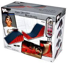 Tony Hawk Tech Deck Half Pipe by Amazon Com Tech Deck Ryan Sheckler Big Ramp Toys U0026 Games
