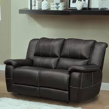 TRIBECCA HOME Griffin Black Bonded Leather Oversized Double